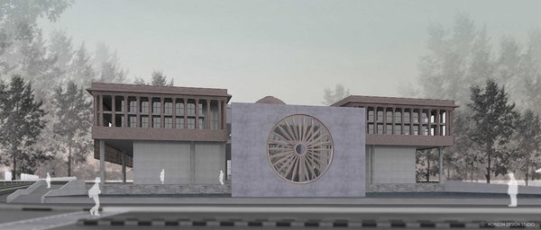 Photo 4 of Indian National War Museum International Competition - 2016 modern home