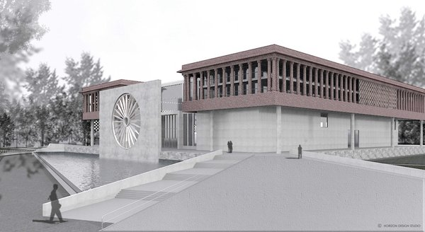 Photo 3 of Indian National War Museum International Competition - 2016 modern home