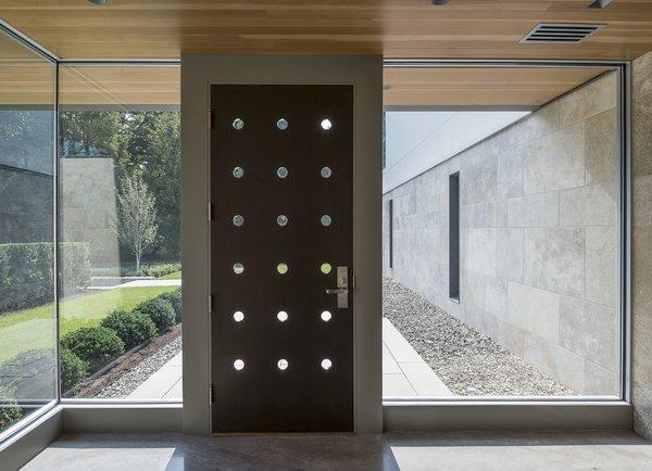 Entry vestibule