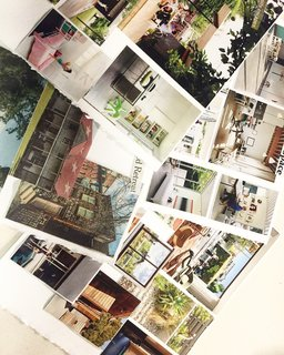 7 People to Follow on Dwell Right Now - Photo 2 of 7 - San Francisco photographer Nikki Janda's inspiration board, composed of old clippings from Dwell issues, was guaranteed to grab our attention. See her profile for studies in color and modern architecture.