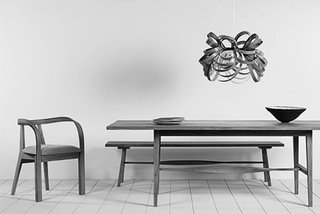 The Modern Revival of Steam Bending Wood - Photo 7 of 7 - The Butterfly Pendant and Arbor Chair