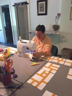 Alden B. Dow Inspired Modern Quilt to be auctioned for educational programming - Photo 1 of 2 -
