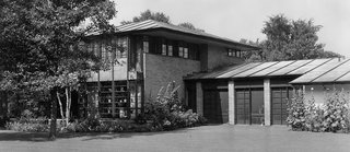 The Earl Stein Residence, 1933. The first home Alden B. Dow designed <br>