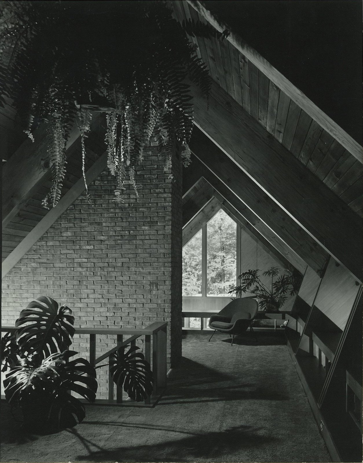 The Josephine Ashmun Residence by Alden B. Dow  The Josephine Ashmun Residence by Alden B. Dow Home and Studio -  Mid-Century Modern