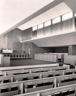 St. John's Episcopal Church  Mid-Century Modern  by Alden B. Dow - Photo 5 of 5 - St. John's Episcopal Church, Mid-Century Modern,  Midland MI, by Alden B. Dow, www.abdow.org
