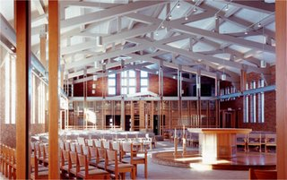 """""""The Mysticism of Religious Architecture""""   A lecture by Constantine George Pappas, AIA - Photo 5 of 6 - St. Mary Magdalen Catholic Church<br>Interior Renovation</p><p>Madison Heights, MI by Constantine George Pappas, AIA Architecture/Planning"""