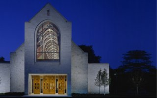 """""""The Mysticism of Religious Architecture""""   A lecture by Constantine George Pappas, AIA - Photo 3 of 6 - Grosse Pointe United Methodist Church</p><p>Grosse Pointe Farms, MI by Constantine George Pappas, AIA Architecture/Planning"""