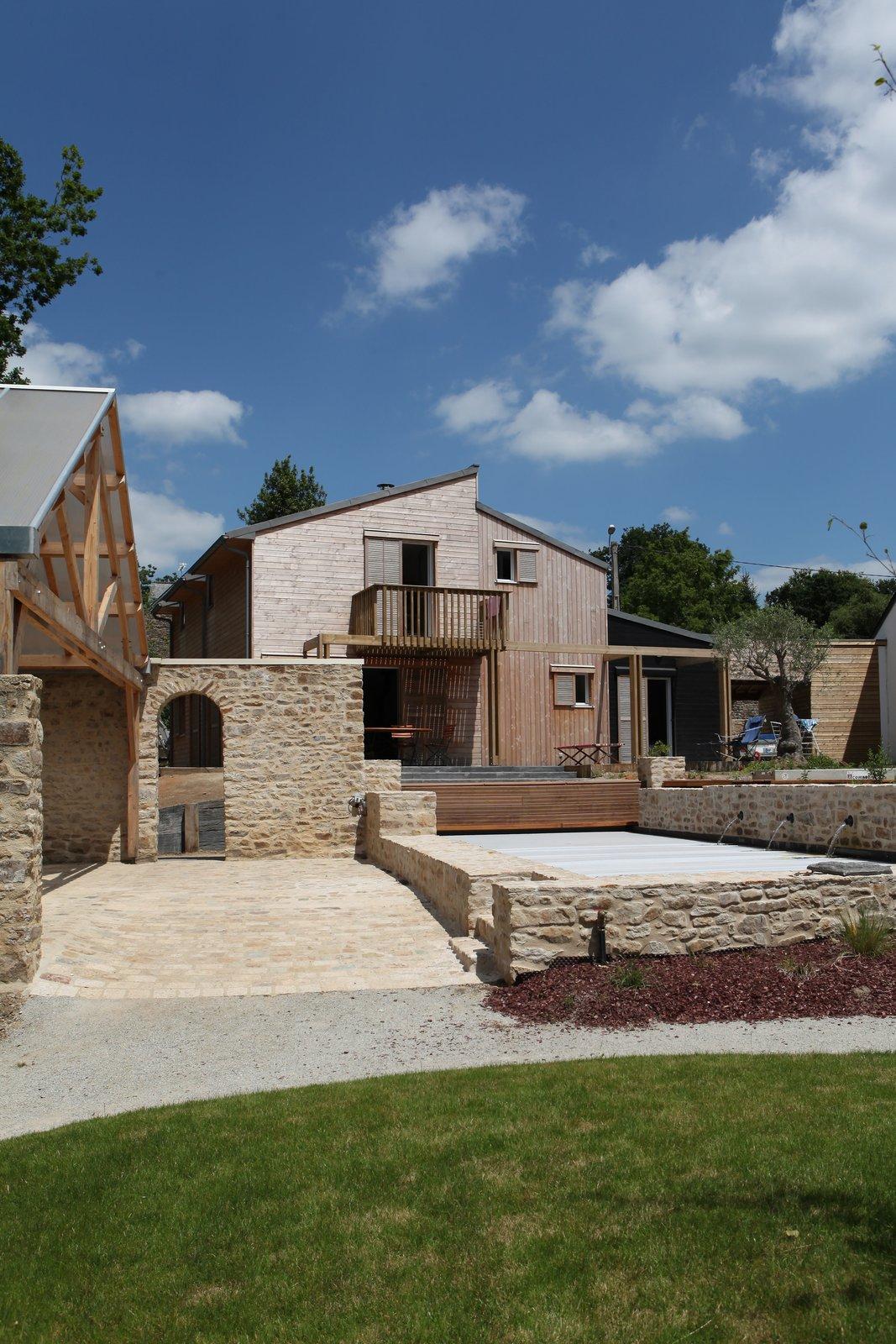 A bioclimatic house in Auray, Brittany  France Patrice Bideau  A bioclimatic house in Auray, Brittany, France by a.typique Patrice Bideau ( 2013 ) by Patrice Bideau