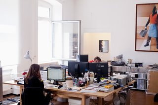 Print In The Digital Age - Photo 2 of 7 - The offices of HORT photographed by Amos Fricke