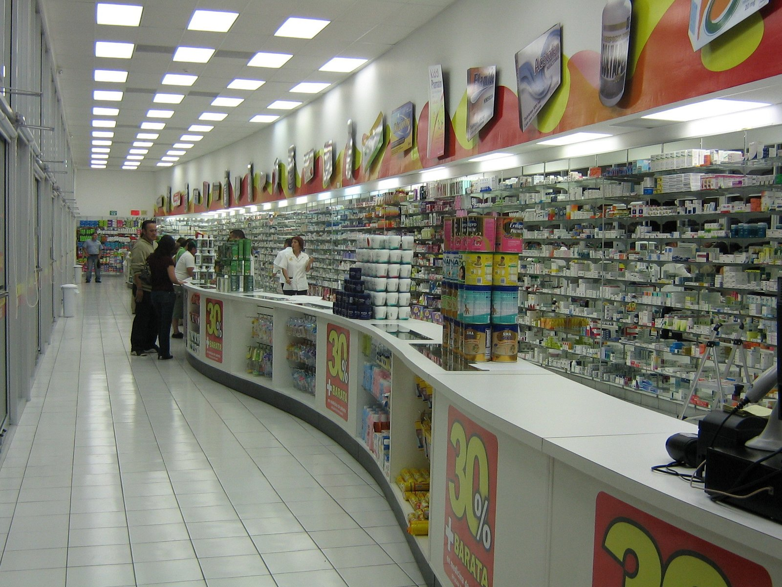 PHARMACY CHAIN Mexicali, BC, MX Design-Build (Interiors) 10,000sf  RETAIL STORES by DM Planning and Architecture Consultants
