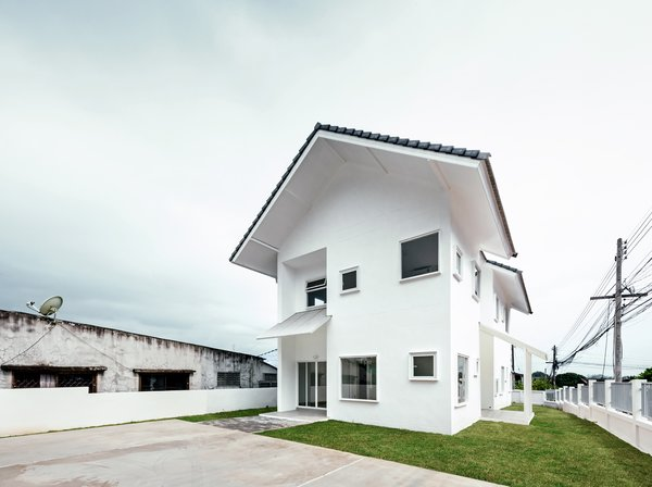 Modern home with outdoor. Photo 6 of CATHOLIC PRIEST HOUSE CHOM THONG