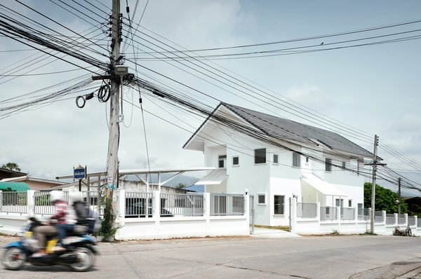 Modern home with living room. Photo  of CATHOLIC PRIEST HOUSE CHOM THONG