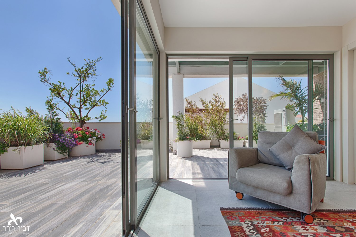 In & OUT - my vision never stop at the window  Indoor - Outdoor spaces by Liat Dvir-Rotem