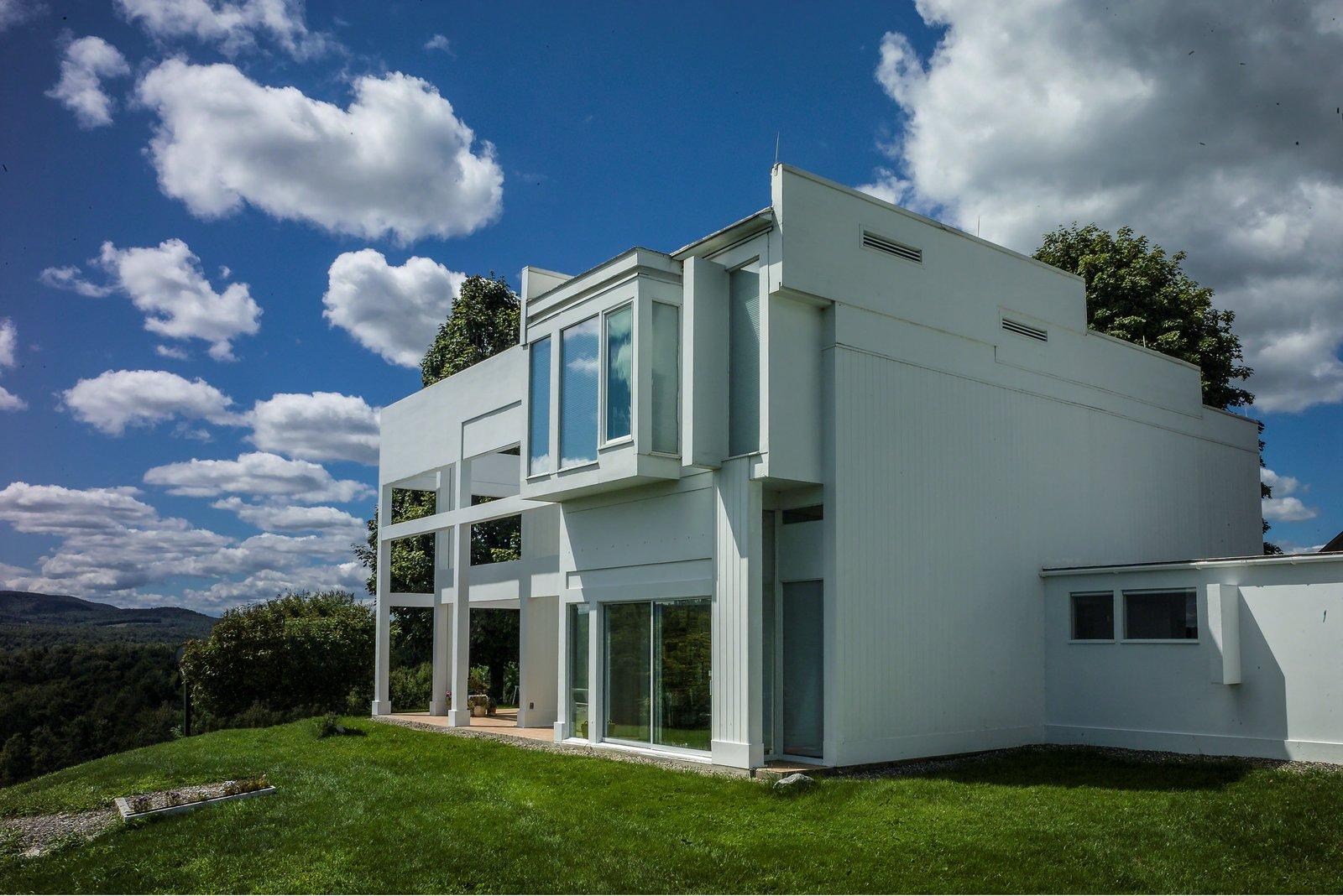 House II / Falk House: View of rear elevation  House II / Falk House by Devin Colman
