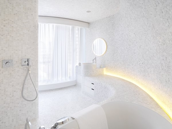 Modern home with bath room. Main Bathroom Photo 2 of Apartment of Perfect Brightness