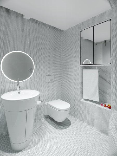 Modern home with bath room. Daughter's Bathroom Photo 7 of Apartment of Perfect Brightness