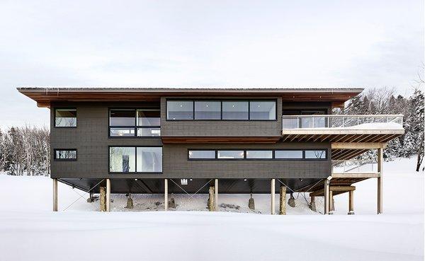 Photo 15 of Laurentian Ski Chalet modern home