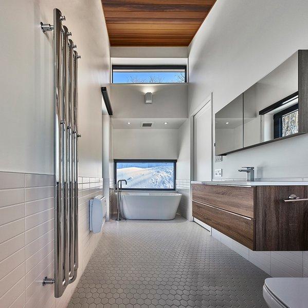 Master Bath. By RobitailleCurtis Photo 11 of Laurentian Ski Chalet modern home