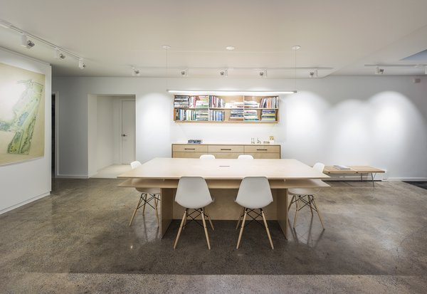The conference table. Photo  of Office | Atelier modern home