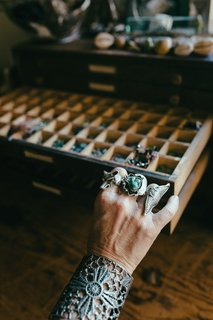 Up on the Mountain | A Topanga Visit with Alkemie Jewelry - Photo 2 of 3 -