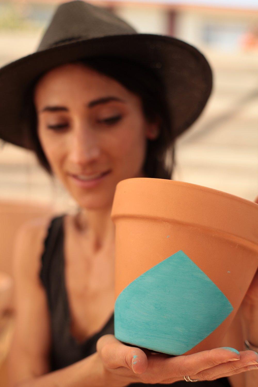 Put a Plant on It | DIY Painted Terra Cotta Pots - Photo 5 of 7