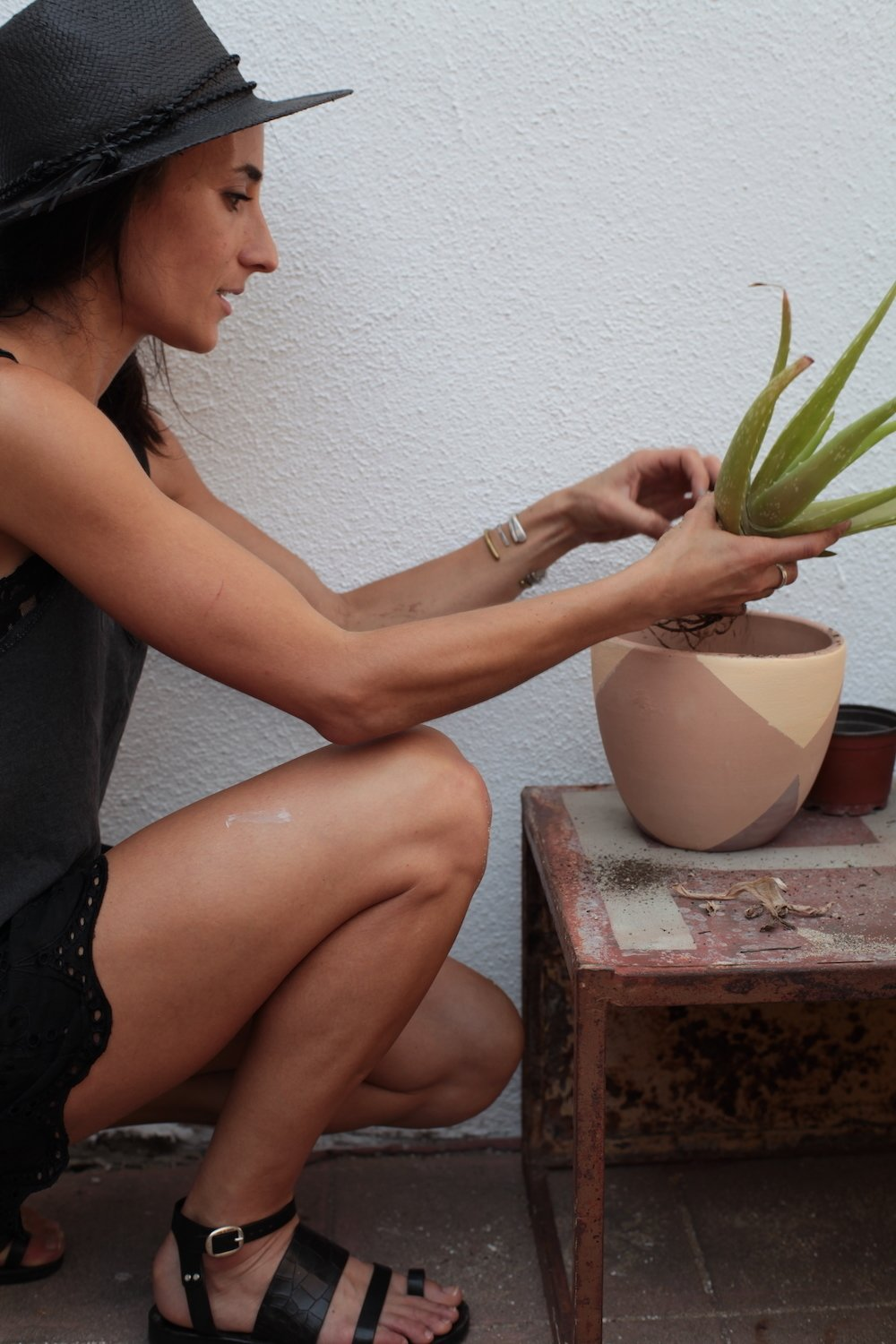 Photo 7 of 7 in Put a Plant on It | DIY Painted Terra Cotta Pots