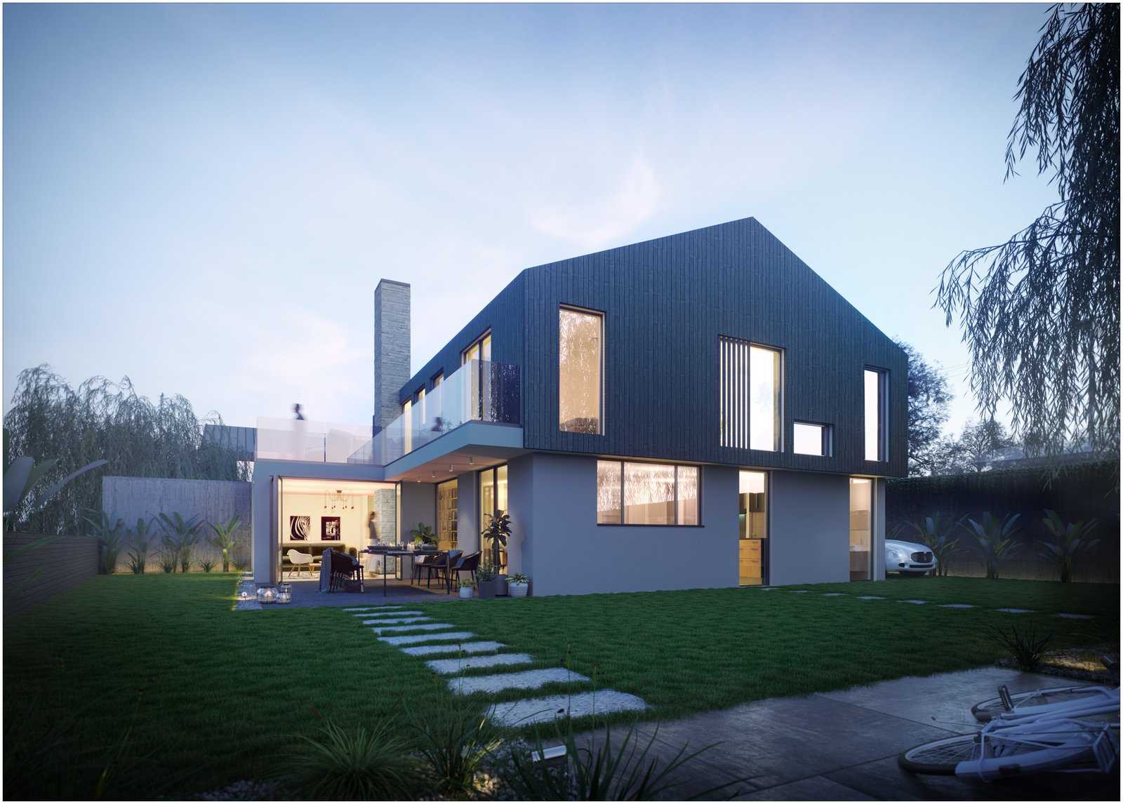 THE STATION HOUSES by Glen Thomas Architecture Ltd