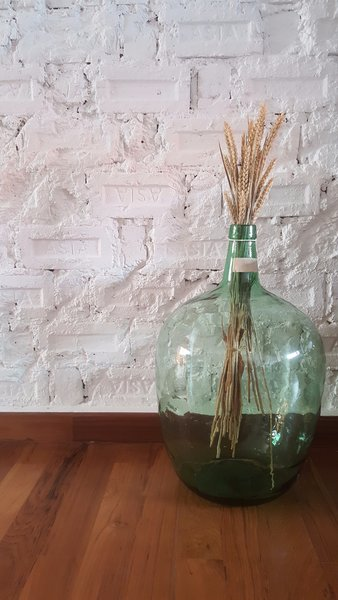Repurposing what used to be a glass case for alcohol in Denmark.  Photo 15 of The Singapore Designer Loft: A Fusion of Old and New modern home