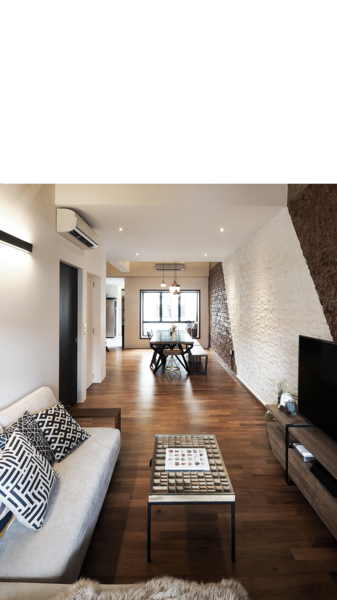 Photo  of The Singapore Designer Loft: A Fusion of Old and New modern home