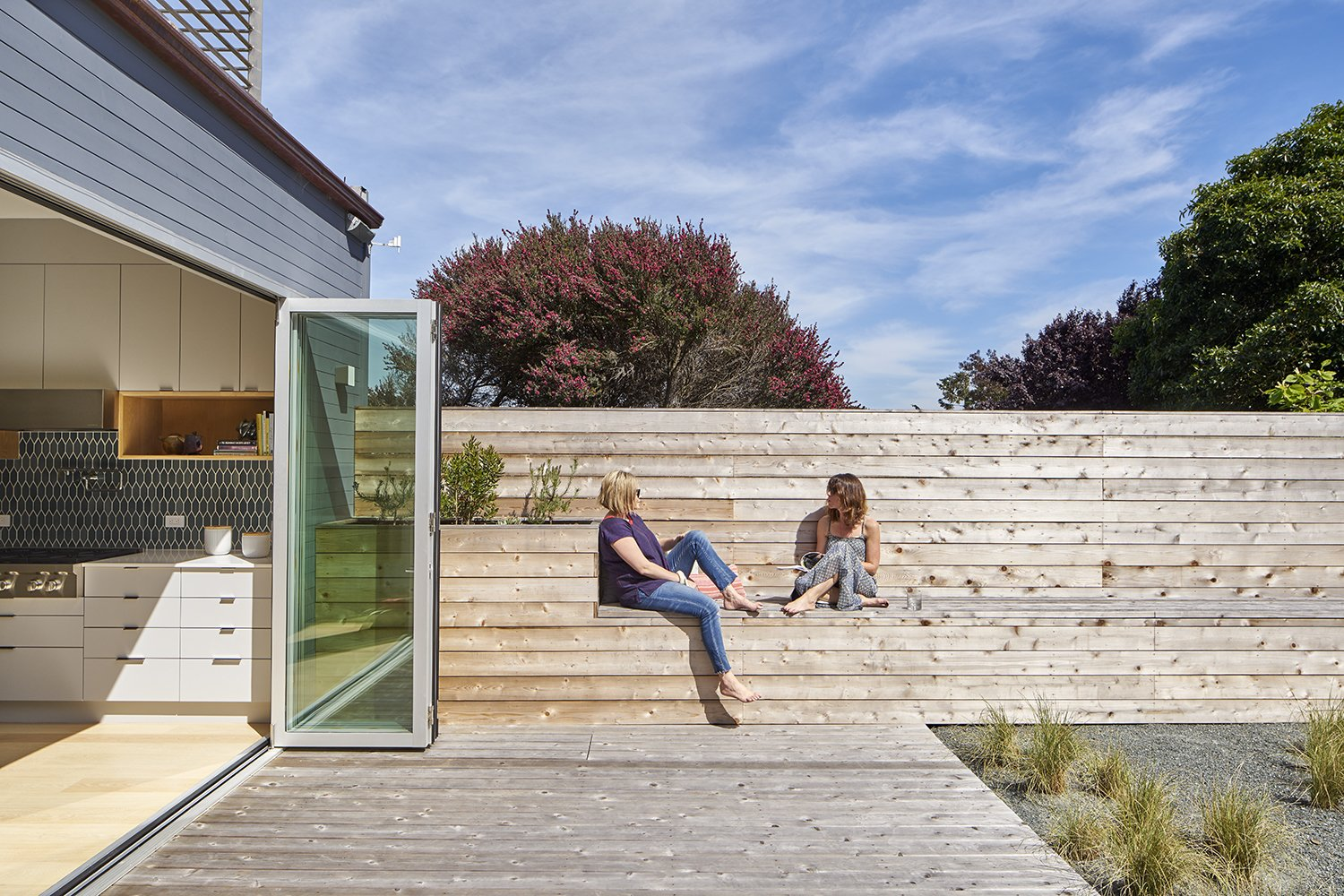 Tagged: Outdoor, Large Patio, Porch, Deck, and Wood Patio, Porch, Deck.  Randall Street by YAMAMAR Design