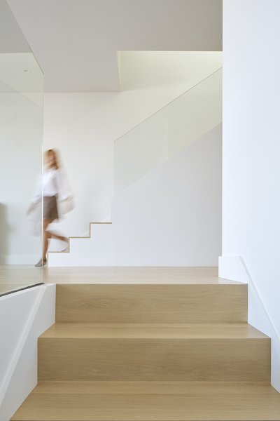 entry moment Photo  of Randall Street modern home
