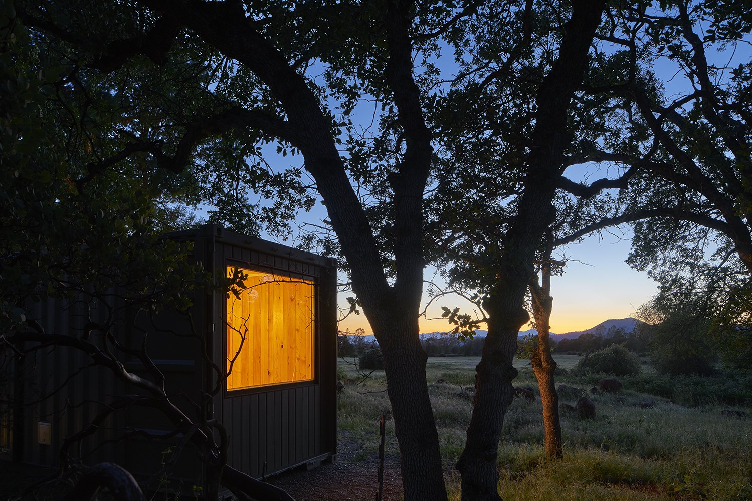 Tagged: Exterior and Shipping Container Building Type.  Container Cabin by YAMAMAR Design