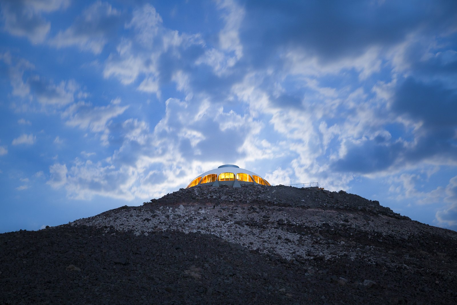 Tagged: Outdoor and Desert.  Volcano House by lance gerber