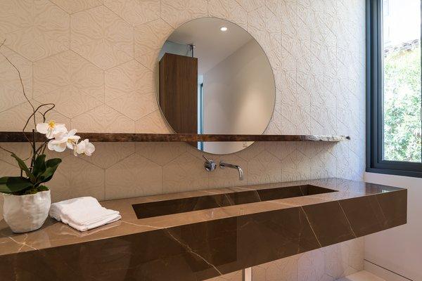 Powder Vanity Photo 5 of Amalfi Drive Residence modern home