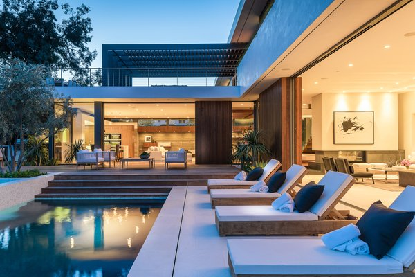 Pool Terrace Photo 2 of Amalfi Drive Residence modern home