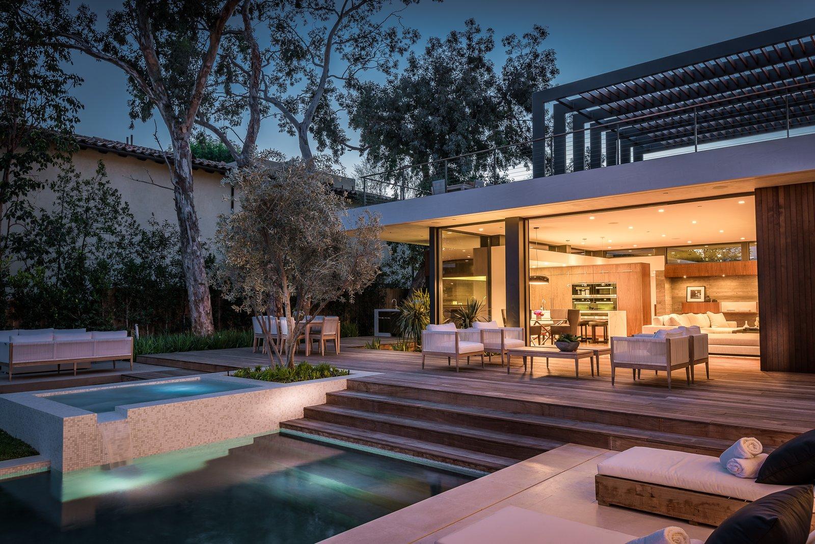 Pool Terrace  Amalfi Drive Residence by Daryl Olesinski