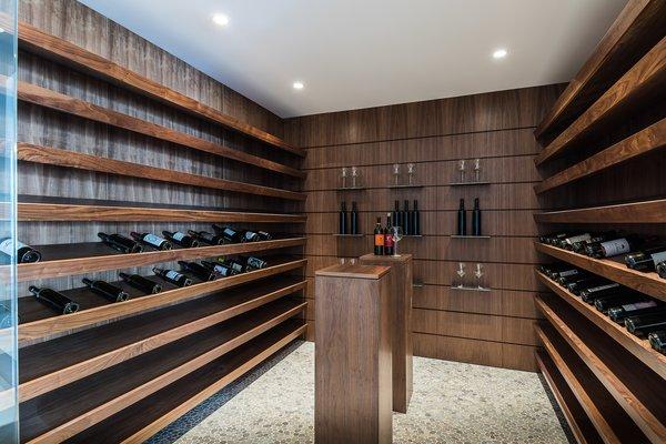 Wine Cellar Photo 18 of Amalfi Drive Residence modern home