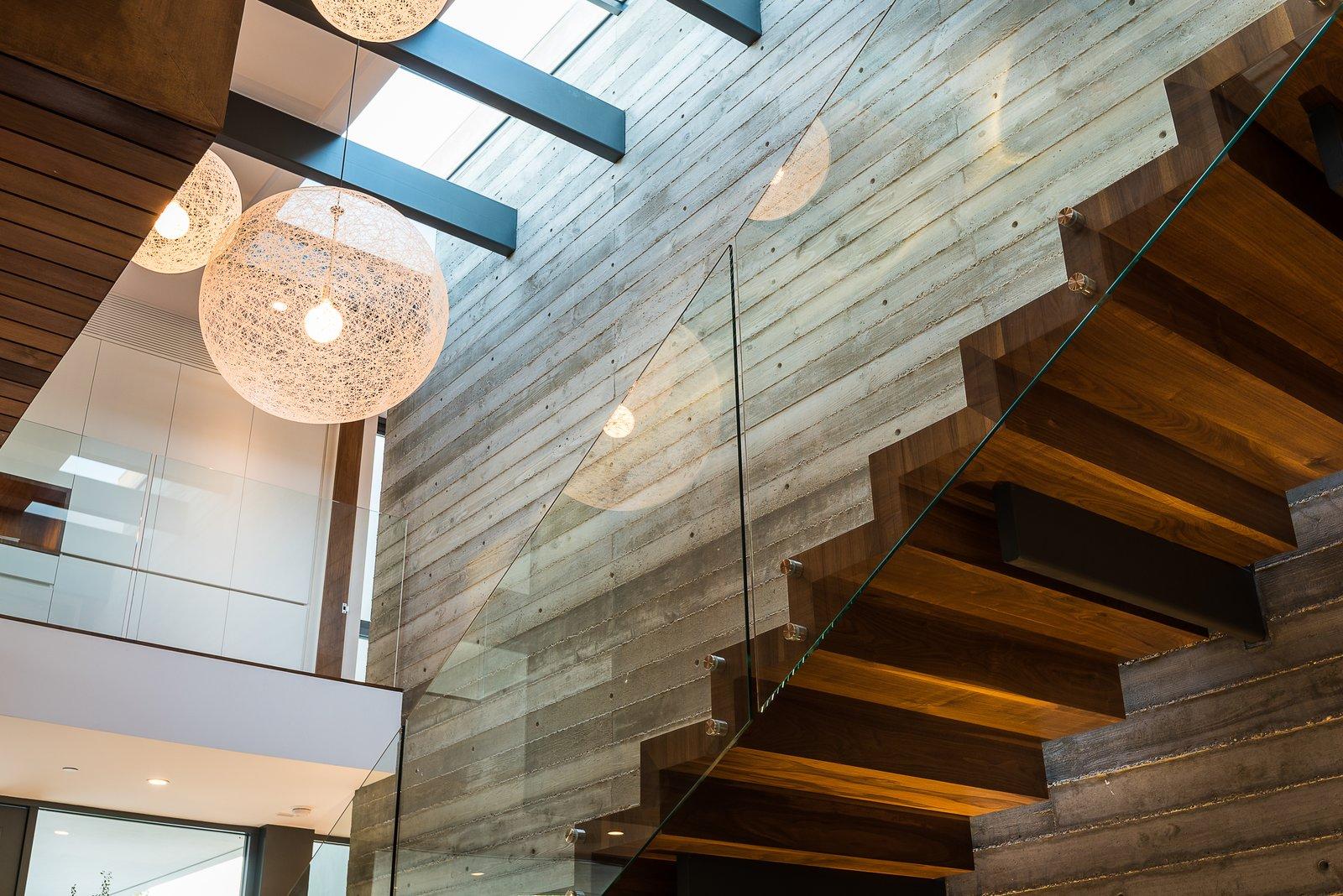 Entry / Stair Amalfi Drive Residence by Daryl Olesinski
