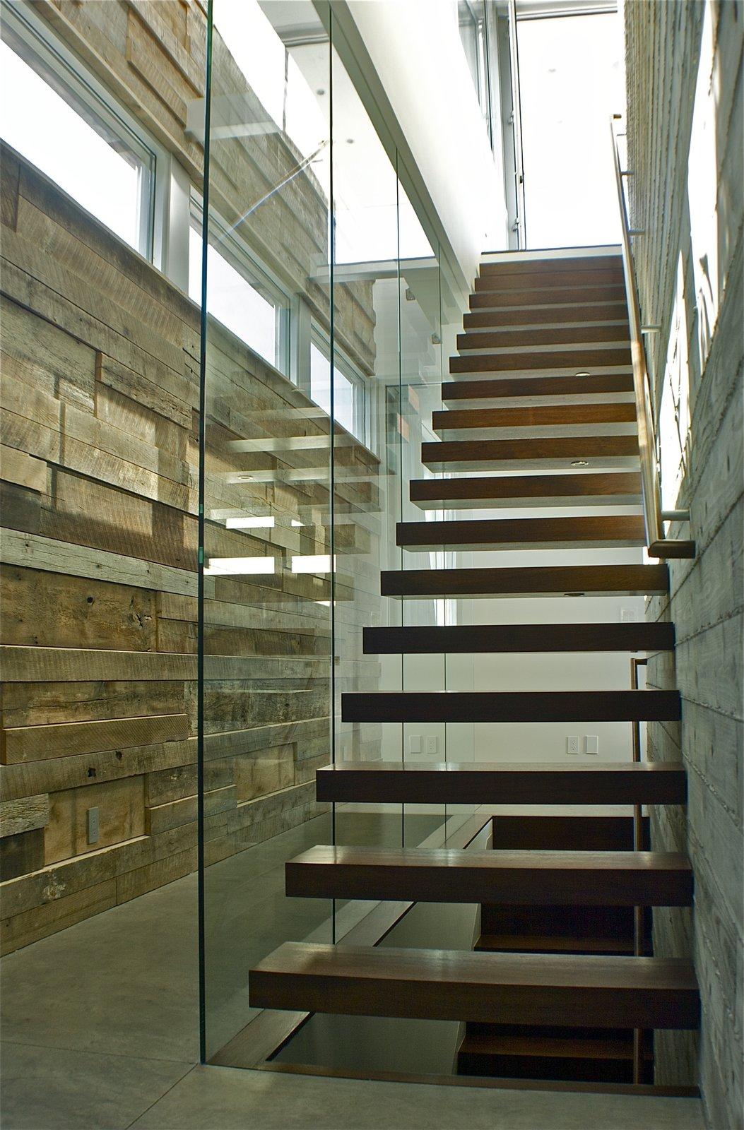 Stair  Manhattan Beach Residence by Daryl Olesinski