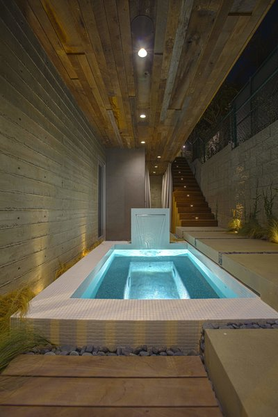 Spa Photo 7 of Manhattan Beach Residence modern home
