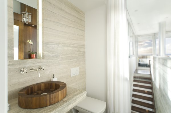 Powder Room Photo 10 of Manhattan Beach Residence modern home