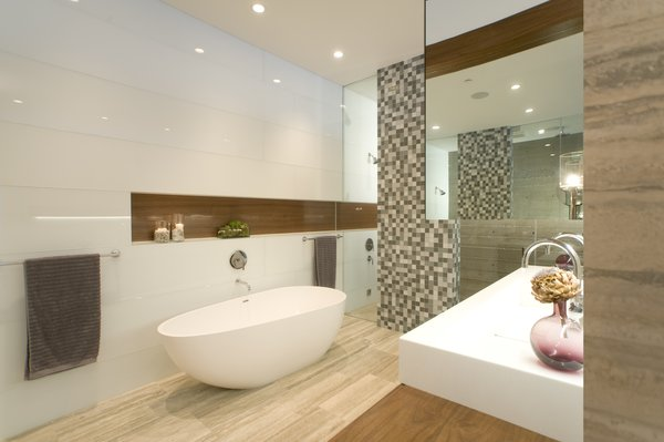 Master Bath Photo 12 of Manhattan Beach Residence modern home