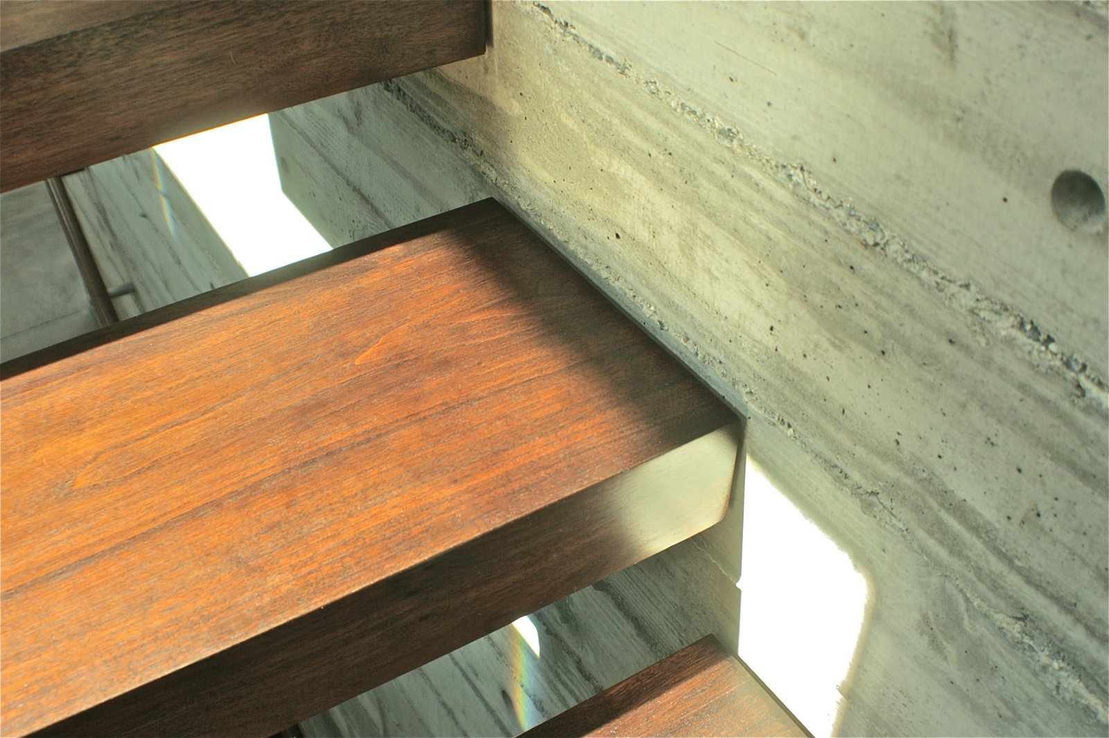 Stair Detail  Manhattan Beach Residence by Daryl Olesinski
