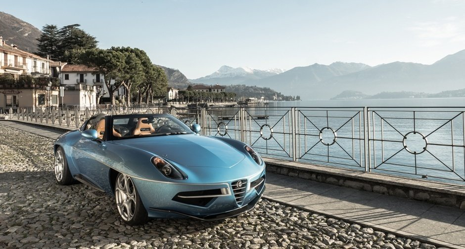 Photo 1 of 2 in Alfa Romeo Disco Volante Spider Concept by Carrozzeria Touring Superleggera ... one fine form
