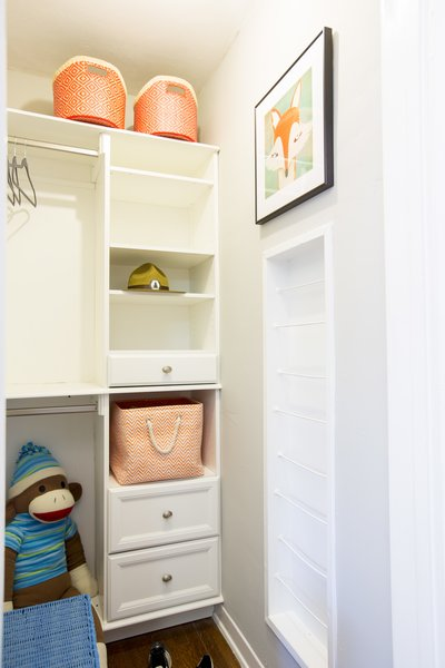 The horrible closet - Photo 1 of 1 - The finished product.