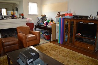 A family room gets a hi-tech modern makeover - Photo 1 of 10 -