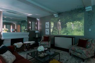 A family room gets a hi-tech modern makeover - Photo 5 of 10 -