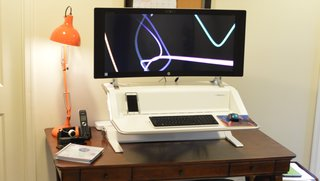 The Lotus Sit Stand Workstation: the next best thing to yoga while you work - Photo 1 of 3 -