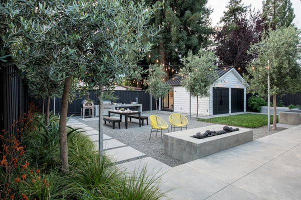 The rear yard is ready for family and friends Photo 7 of Refreshing Bungalow modern home