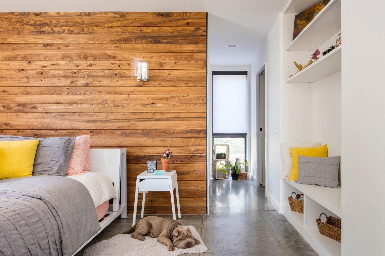 Master bedroom  Tagged: Bedroom.  Modern Lodge by Maria Doyle